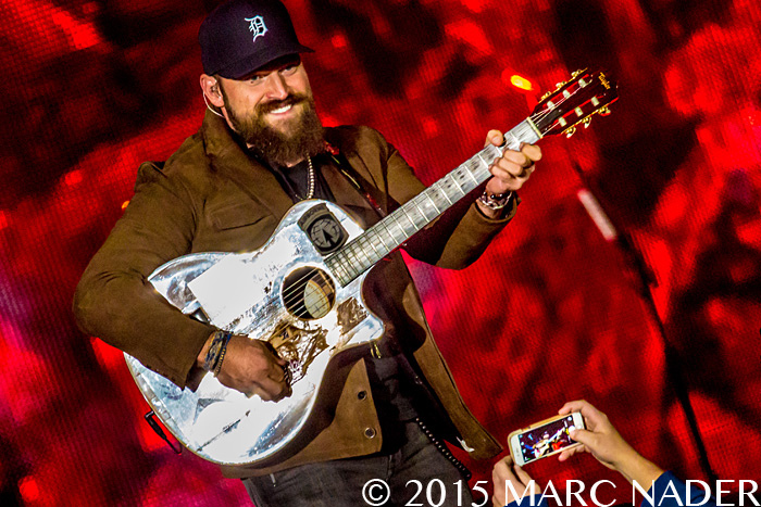 Zac Brown Band performing on the Jekyll and Hyde Tour at Comerica Park in Detroit, MI on September 12th 2015 Photo by Marc Nader