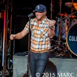 Cole Swindell performing on Jason Aldean's 2015 Burn It Down Tour at DTE Energy Music Theatre in Clarkston, MI on September 18th 2015 Photo by Marc Nader