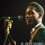 Leon Bridges performing at the Majestic Theatre in Detroit, MI on October 24th 2015 Photo by Marc Nader