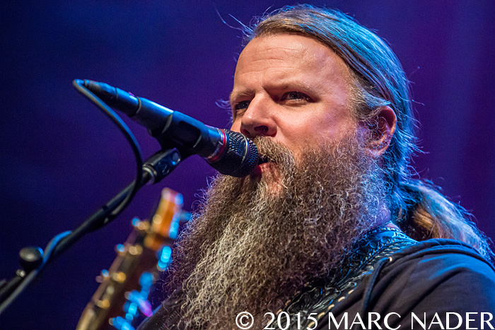 Jamey Johnson performing on his Fall Tour at The Fillmore in Detroit, MI on November 20th 2015 Photo by Marc Nader