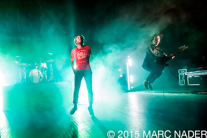 Awolnation performing on The Night 89X Stole Xmas Show at The Fillmore in Detroit, MI on December 18th 2015 Photo by Marc Nader
