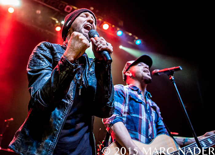 "Locash performing on the Eli Young Band's  ""Winter Tour"" at The Fillmore in Detroit, MI on December 4th 2015 Photo by Marc Nader"