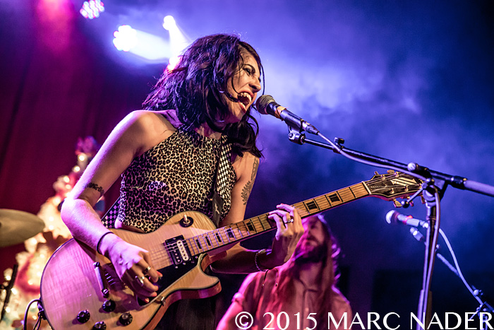 Jessica Hernandez & The Deltas special Homecoming Show at Saint Andrews Hall in Detroit, MI on December 5th 2015 Photo by Marc Nader