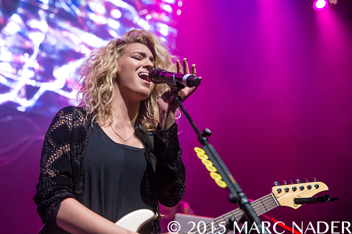 Tori Kelly performing on the Amp 98.7 Kringle Jingle at The Fillmore in Detroit, MI on December 8th 2015 Photo by Marc Nader