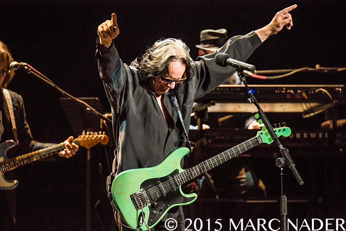 Todd Rundgren, performing on his Winter Tour at The Fillmore in Detroit, MI on December 9th 2015 Photo by Marc Nader