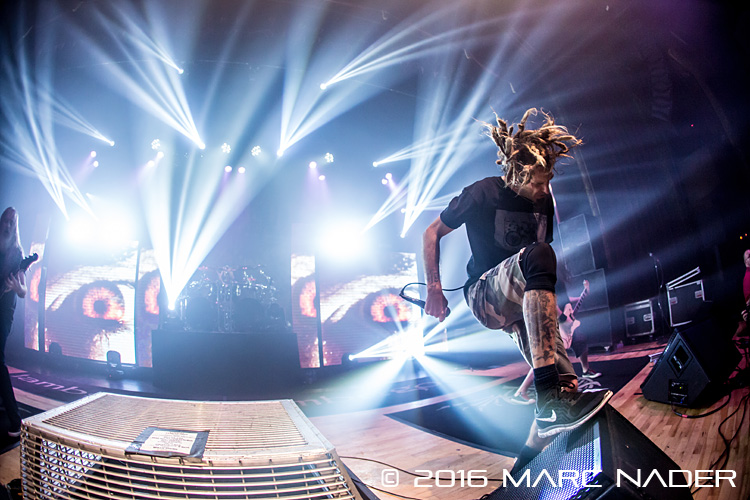Lamb of God performing on their 2016 U.S. Tour at The Royal Oak Music Theatre in Royal Oak, MI on January 28th 2016 Photo by Marc Nader