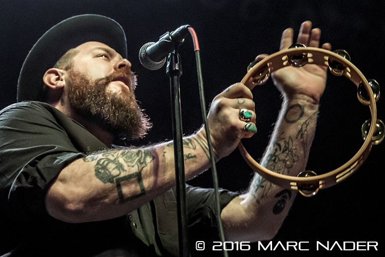 Nathaniel Rateliff and the Night Sweats kick off their 2016 World Tour in front of a sold out crowd at The Fillmore in Detroit, MI on January 29th 2016 Photo by Marc Nader