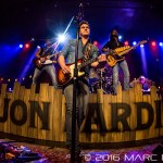 """Jon Pardi performing on his """"All Time High Tour"""" at Saint Andrews Hall in Detroit, MI on January 9th 2016 Photo by Marc Nader"""
