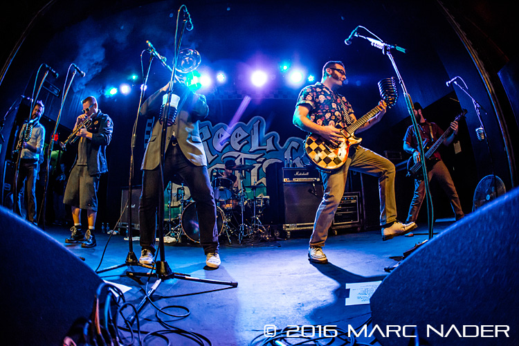 "Reel Big Fish performing on their ""USA 2016 Winter Tour"" at Saint Andrews Hall in Detroit, MI on February 11th 2016 Photo by Marc Nader"