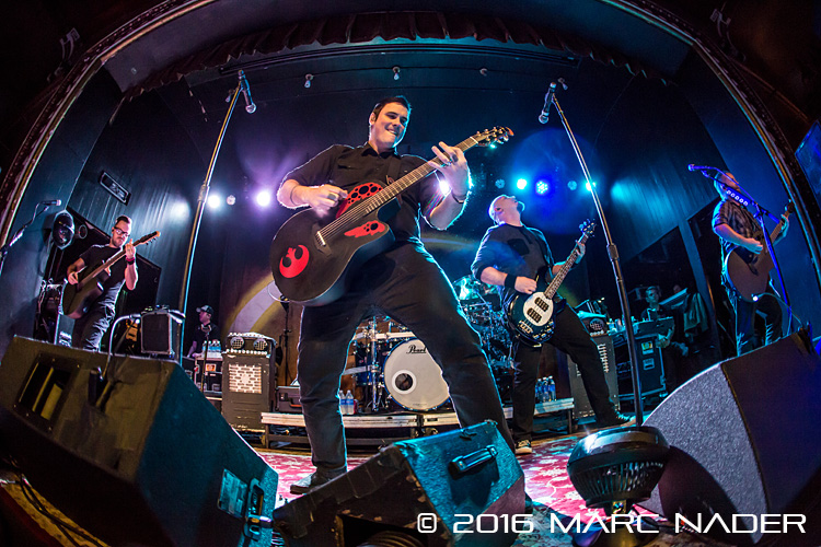 "Breaking Benjamin performing on their ""Unplugged Tour"" at Saint Andrews Hall in Detroit, MI on February 8th 2016 Photo by Marc Nader"