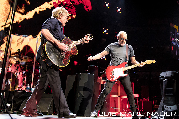 The Who Hits 50 Tour at Joe Louis Arena in Detroit, MI on February 27th 2016 Photo by Marc Nader