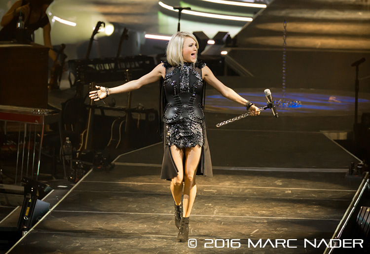 Carrie Underwood performing on The Storyteller Tour at the Palace of Auburn Hills in Auburn Hills, MI on March 22nd 2016 Photo by Marc Nader