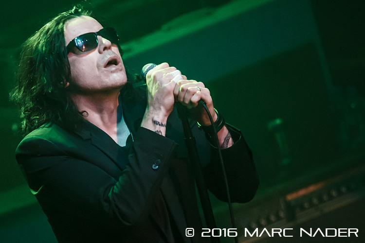 The Cult performing on their Alive In The Hidden City Tour at The Fillmore in Detroit, MI on March 26th 2016 Photo by Marc Nader