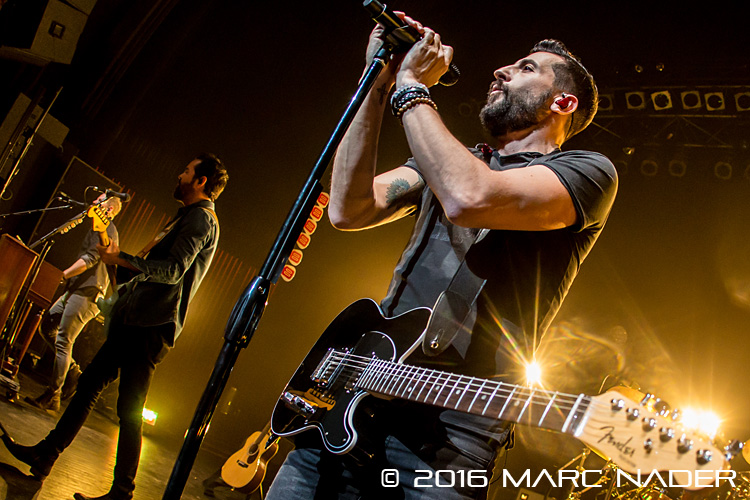 Old Dominion performing on the Jammin For Joseph event at The Fillmore in Detroit, MI on March 10th 2016 Photo by Marc Nader