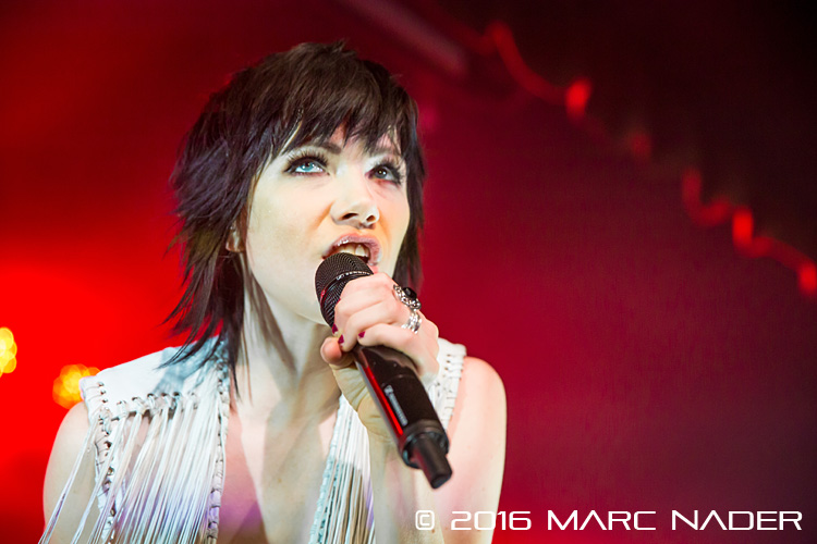 Carly Rae Jepsen performing on her Gimmie Love Tour at Saint Andrews Hall in Detroit, MI on March 13th 2016 Photo by Marc Nader