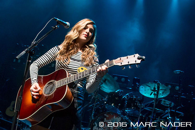 Cassadee Pope performing on the Jammin For Joseph event at The Fillmore in Detroit, MI on March 10th 2016 Photo by Marc Nader