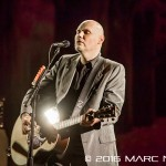 """The Smashing Pumpkins performing on their """"In Plainsong"""" An Acoustic-Electro Evening tour at The Fillmore in Detroit, MI on April 1st 2016 Photo by Marc Nader"""