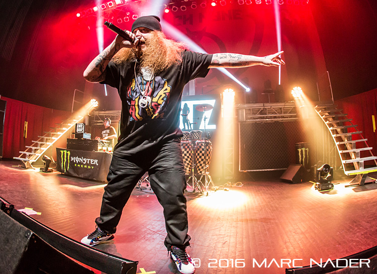 Rittz performing on Tech N9ne's Independent Powerhouse Tour at The Fillmore in Detroit, MI on April 24th 2016 Photo by Marc Nader