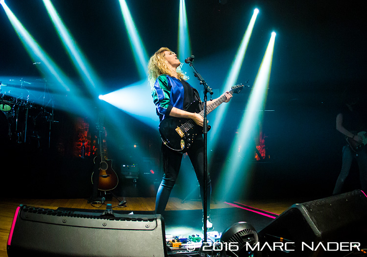 Tori Kelly performing on her Unbreakable Tour at The Royal Oak Music Theatre in Royal Oak, MI on May 5th 2016 Photo by Marc Nader