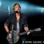 "Keith Urban performing on his ""Ripcord World Tour"" at DTE Energy Music Theatre in Clarkston, MI on June 23rd 2016 Photo by Marc Nader"