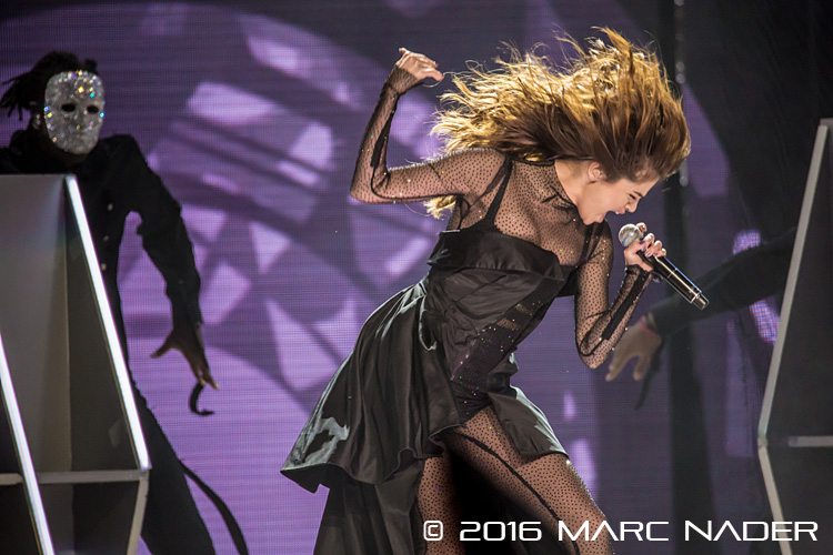 "Selena Gomez performing on her ""Revival Tour"" at the Palace of Auburn Hills in Auburn Hills, MI on June 24th 2016 Photo by Marc Nader"