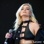 Bebe Rexha performing on the 98.7 AMP Live 2016 show at Freedom Hill in Sterling Heights, MI on June 25th 2016 Photo by Marc Nader