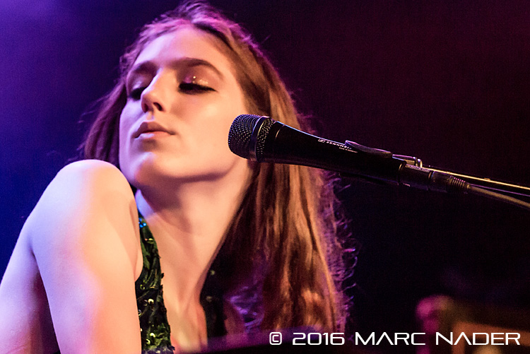 "Birdy performing on her ""Beautiful Lies"" Tour at Saint"