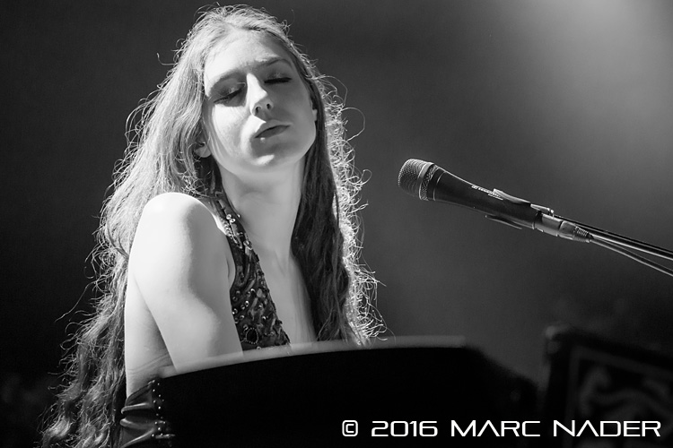 "Birdy performing on her ""Beautiful Lies"" Tour at Saint Andrews Hall in Detroit, MI on June 16th 2016 Photo by Marc Nader"
