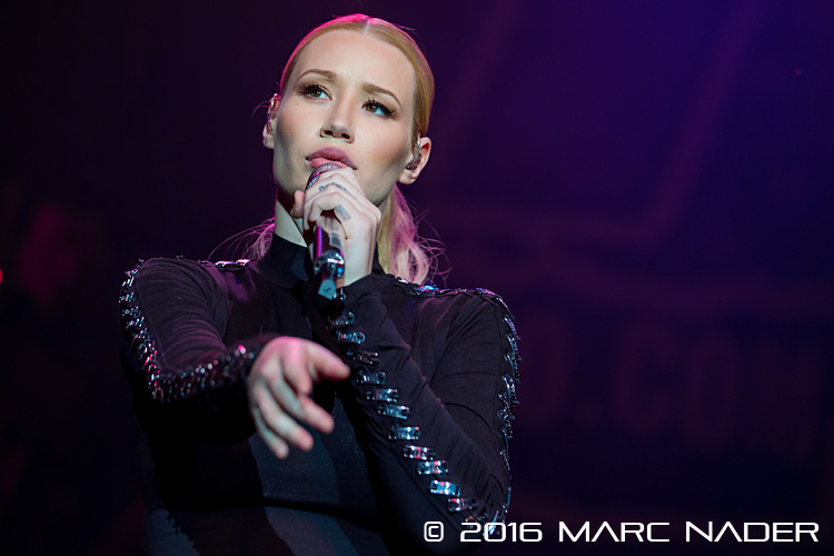 Iggy Azalea performing on the 98.7 AMP Live 2016 show at Freedom Hill in Sterling Heights, MI on June 25th 2016 Photo by Marc Nader