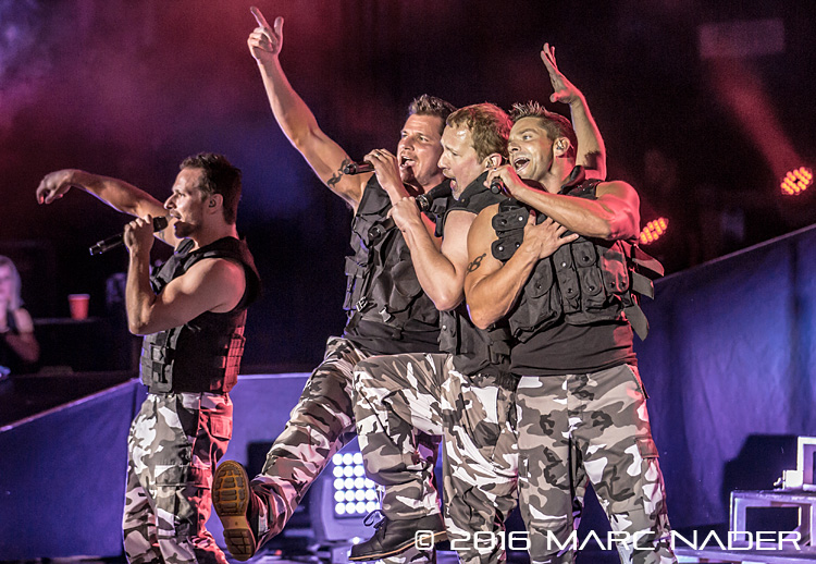 98 Degrees performing on their My2K Tour at the Meadow Brook Music Festival in Rochester Hills, MI on July 29th 2016 Photo by Marc Nader