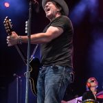 """Jack Ingram performing on Hank Williams Jr and Chris Stapleton's  """"2016 Summer Tour"""" at DTE Energy Music Theatre in Clarkston, MI on August 20th 2016 Photo by Marc Nader"""