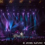 """Hank Williams Jr performing on the co headline """"2016 Summer Tour"""" with Chris Stapleton at DTE Energy Music Theatre in Clarkston, MI on August 20th 2016 Photo by Marc Nader"""