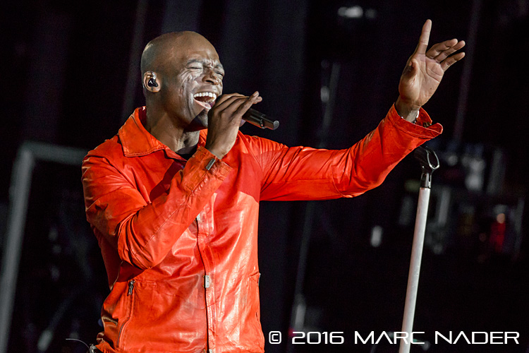 Seal performing on his Summer Tour at the Meadow Brook Amphitheatre in Rochester Hills, MI on August 31st 2016 Photo by Marc Nader