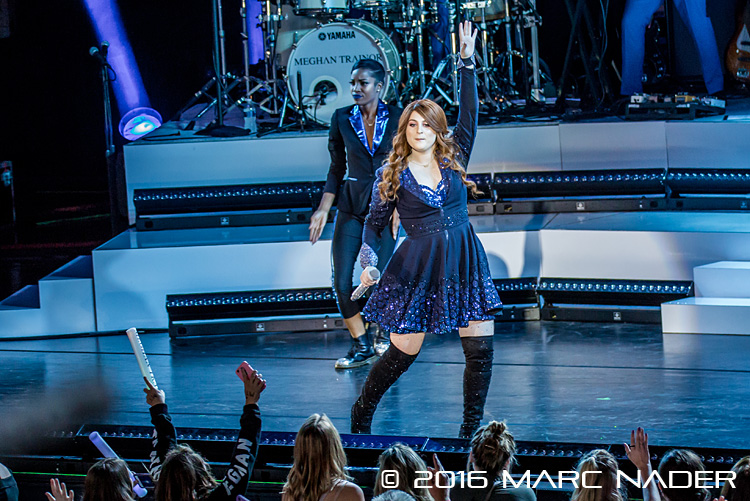 Meghan Trainor performing on The Untouchable Tour at the Meadow Brook Music Festival in Rochester Hills, MI on August 8th 2016 Photo by Marc Nader