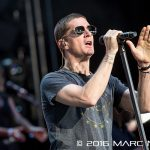 Rob Thomas performing on the co-headlining North American Summer Tour with the Counting Crows at DTE Energy Music Theatre in Clarkston, MI on August 23rd 2016 Photo by Marc Nader