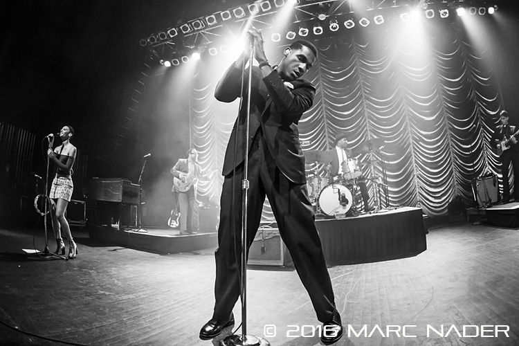 Leon Bridges performing in support of his debut album 'Coming Home' at The Fillmore in Detroit, MI on September 30th 2016 photo by Marc Nader