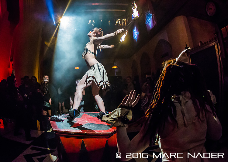 Theatre Bizarre the 'dark carnival' at the Masonic Temple in Detroit, MI on October 15th 2016 Photo by Marc Nader