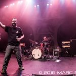 Clutch performing on their Psychic Warfare World Tour at The Fillmore in Detroit, MI on October 28th 2016 photo by Marc Nader