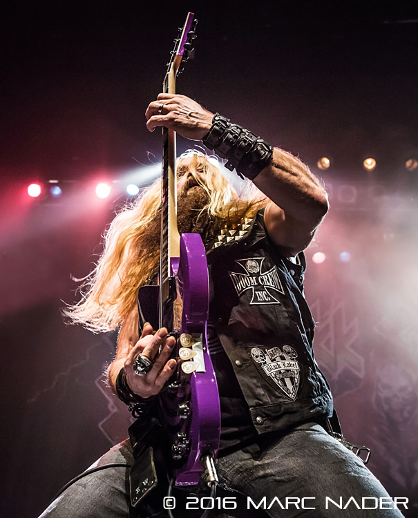 Zakk Sabbath performing on Clutch's Psychic Warfare World Tour at The Fillmore in Detroit, MI on October 28th 2016 photo by Marc Nader