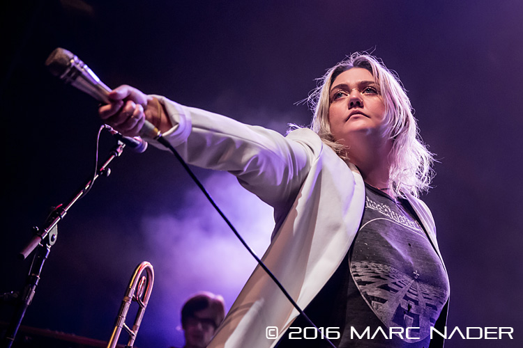 Elle King performing on The Ministry Tour at The Fillmore in Detroit, MI on October 30th 2016 photo by Marc Nader
