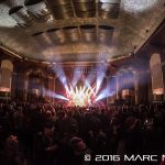 Greensky Bluegrass performing at the Royal Oak Music Theatre in Royal Oak, MI on December 30th 2016 Photo by Marc Nader