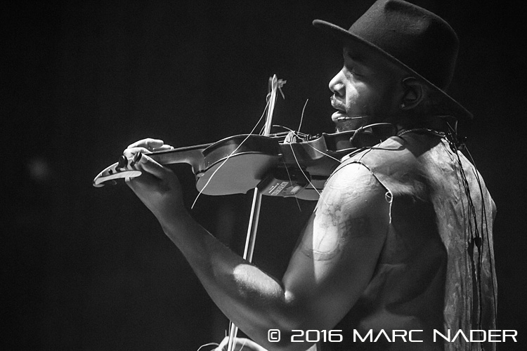 Damien Escobar performing on tour at the Royal Oak Music Theatre in Royal Oak, MI on December 8th 2016 Photo by Marc Nader