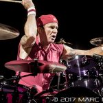 Red Hot Chili Peppers performing on The Getaway World Tour at Joe Louis Arena in Detroit, MI on February 2nd 2017 Photo by Marc Nader