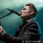 Frankie Ballard performing on WYCD's Ten Man Jam at The Fillmore in Detroit, MI on February 15th 2017 photo by Marc Nader