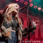 Lauren Alaina performing on WYCD's Ten Man Jam at The Fillmore in Detroit, MI on February 15th 2017 photo by Marc Nader