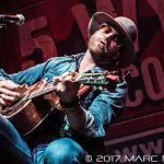 Drake White performing on WYCD's Ten Man Jam at The Fillmore in Detroit, MI on February 15th 2017 photo by Marc Nader