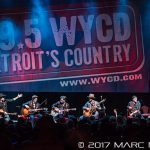 WYCD's Ten Man Jam featuring Randy Houser, Frankie Ballard, Lee Brice, Drake White, Chris Janson, Craig Campbell, Lauren Alaina, Runaway June, Trent Harmon and Ryan Follese at The Fillmore in Detroit, MI on February 15th 2017 photo by Marc Nader