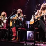 Runaway June performing on WYCD's Ten Man Jam at The Fillmore in Detroit, MI on February 15th 2017 photo by Marc Nader