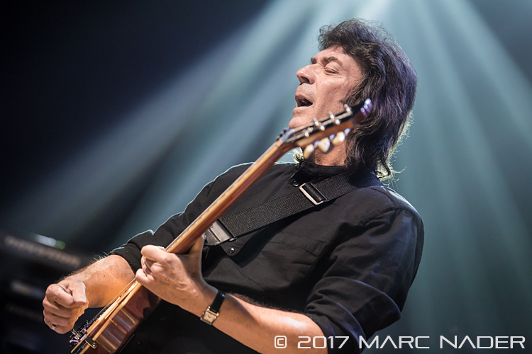 Steve Hackett performing on his 'Genesis Revisited with Classic Hackett 2017 Tour' at the Royal Oak Music Theatre in Royal Oak, MI on March 1st 2017 Photo by Marc Nader