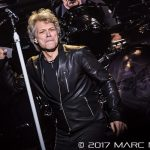 Bon Jovi performing on his This House Is Not For Sale Tour at Joe Louis Arena in Detroit, MI on March 29th 2017 Photo by Marc Nader